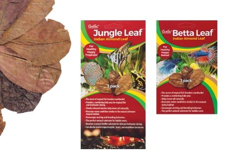 Caribsea Jungle Leaf and Bata Leaf